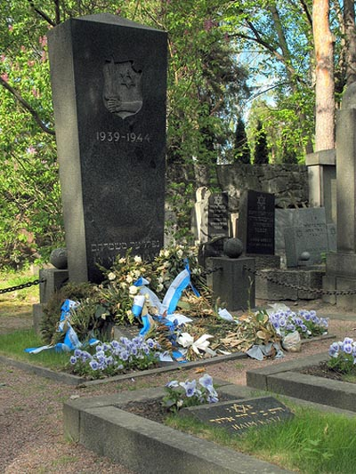 Jewish-Finnish War Graves Helsinki