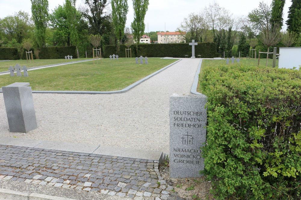 Duitse Oorlogsgraven Zagreb