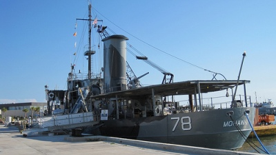 USS Mohawk (WPG-78) CGC Veterans Memorial Reef