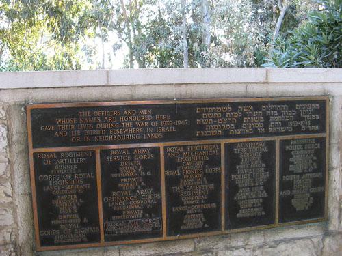 Memorial Ramleh 1939-1945