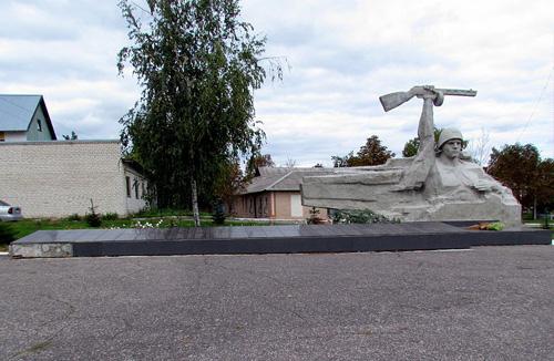 Massagraf Sovjetsoldaten Bilovodsk