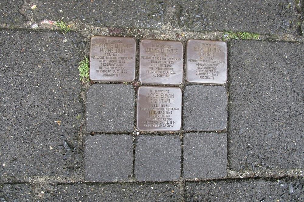 Remembrance Stones Beethovenstraat 15
