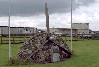 Dunkeswell Vliegveld monument