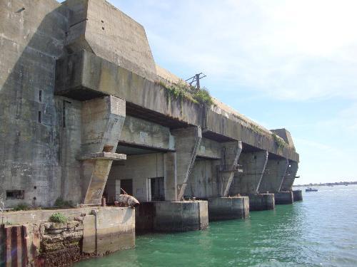 U-Boot Bunker Keroman K3