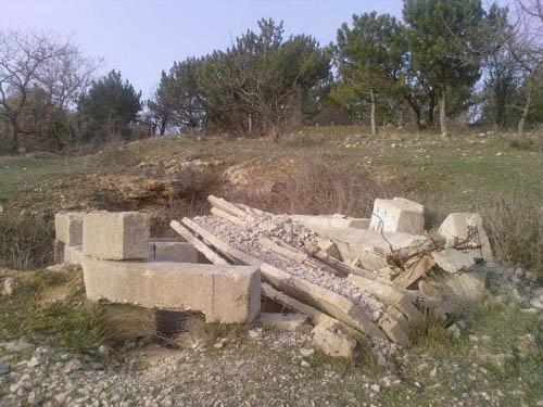 Sector Sevastopol - Onvoltooide Mitrailleursnest