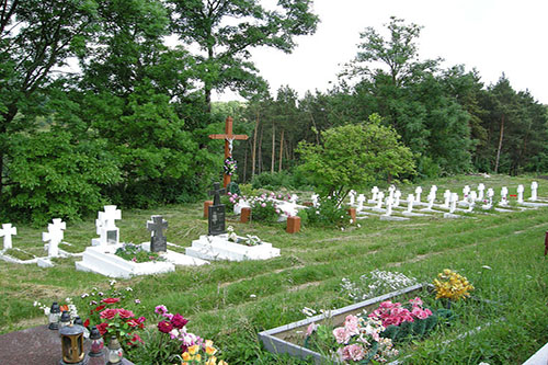 Ukranian War Graves