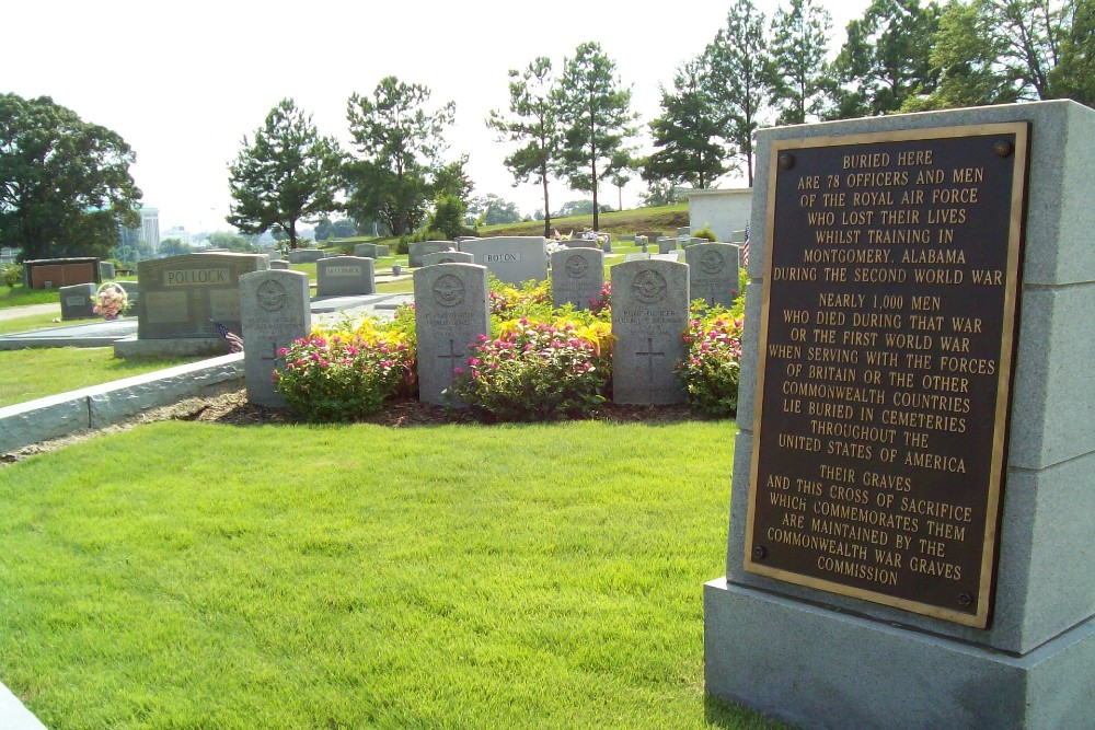 Commonwealth War Graves Montgomery