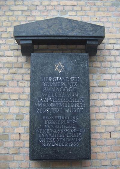 Monument Börneplatzsynagoge