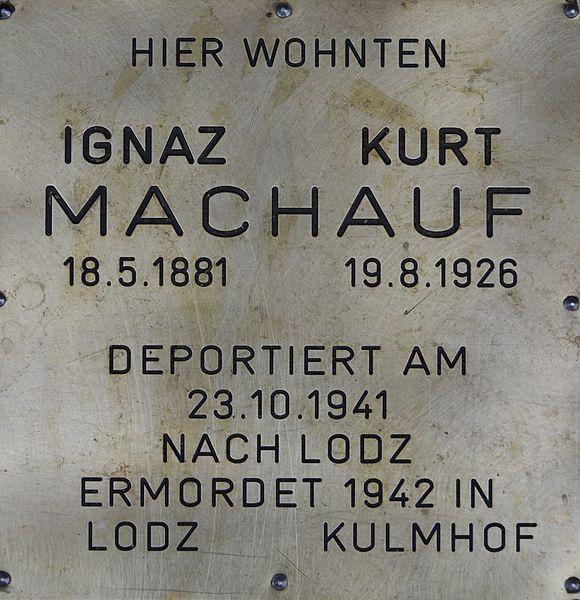 Remembrance Stones Breitenfurter Straße 383