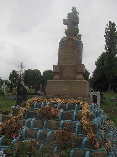 Oekraïense Oorlogsgraven Barysh