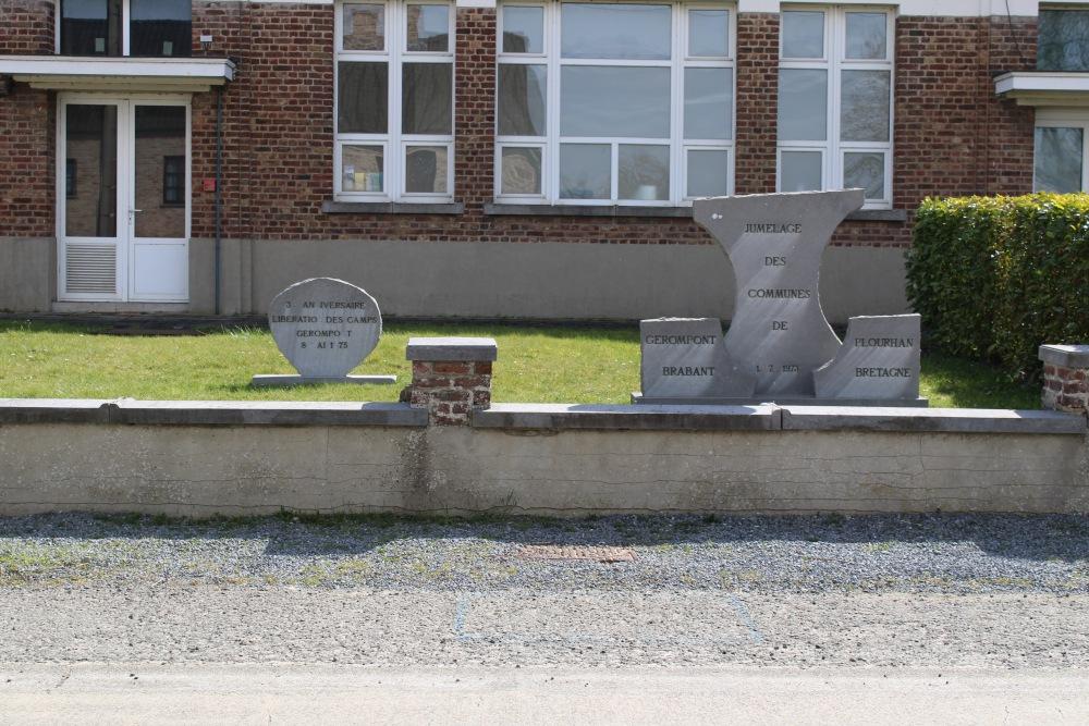 Memorial Commemoration Liberation Concentration Camps Gérompont