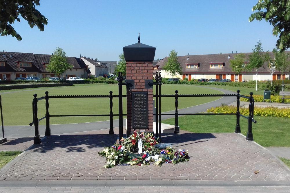 Gedenkteken Oorlogsslachtoffers Elst