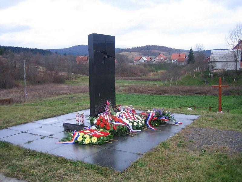 Monument Massamoord Saborsko