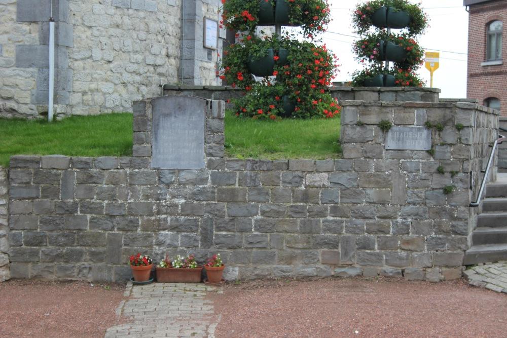 Gedenksteen Omgekomen Verzetsstrijder Ophain-Bois-Seigneur-Isaac