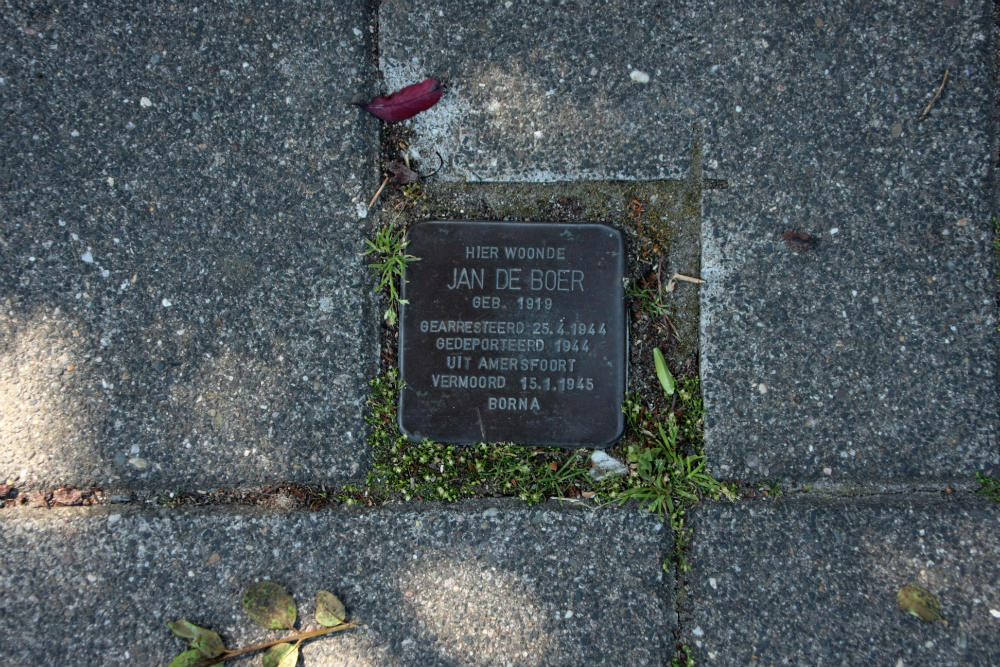 Stumbling Stone Grotestraat 61