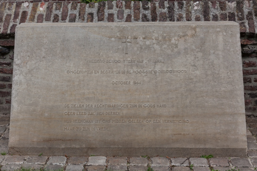 Memorial Victims of War Mental Hospital Sint Anna