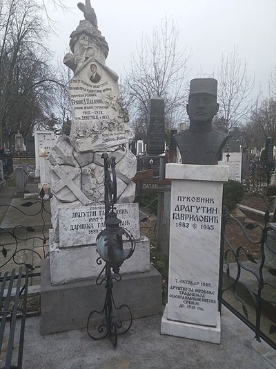 Grave Colonel Gavrilovic Dragutin