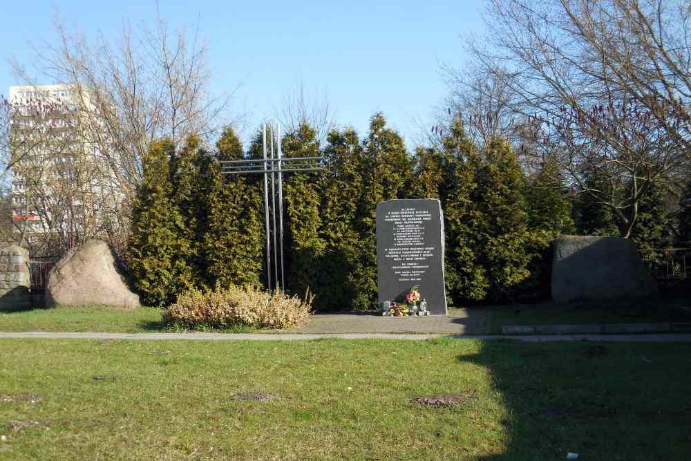 Monument Werkkampen Szczecin