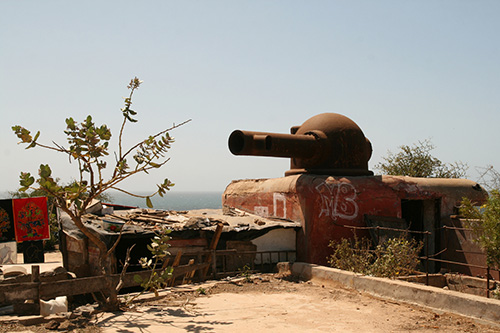 French Coastal Battery Gorée