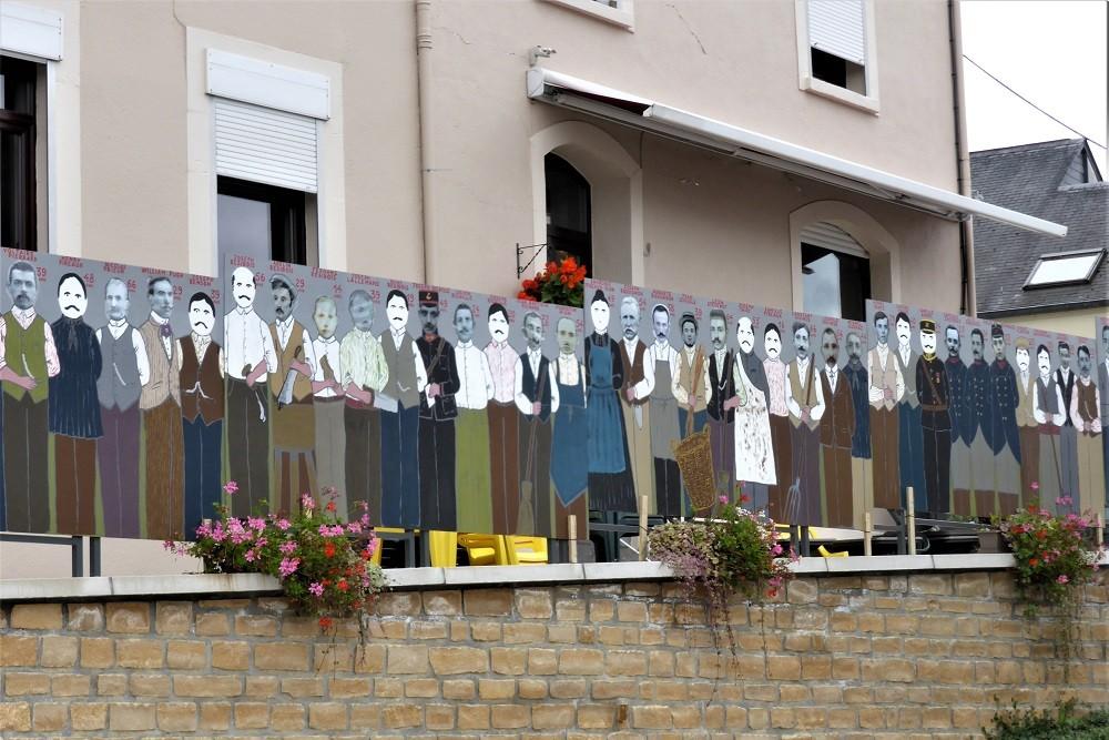 Herdenking 96 Burgerslachtoffers Tintigny