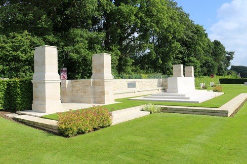 Canadian War Cemetery Dieppe