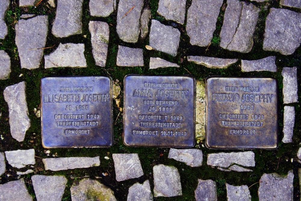 Stumbling Stones Ebertstraße 4