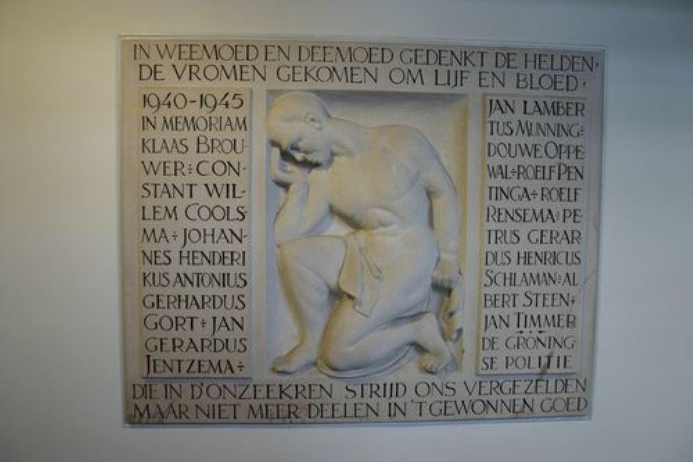 Memorial Police Office Groningen