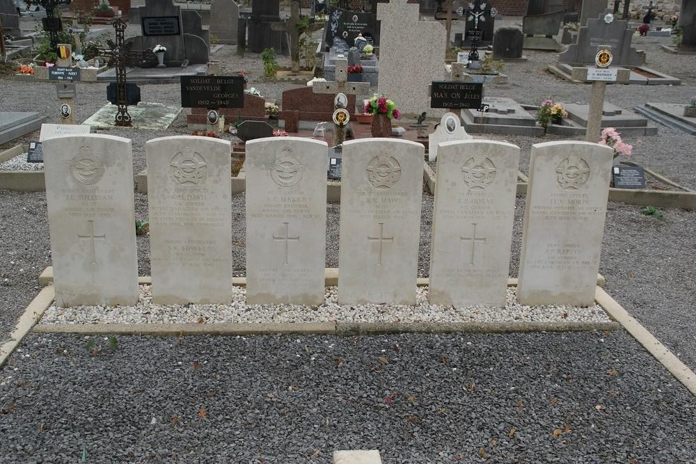Oorlogsgraven van het Gemenebest Perwez