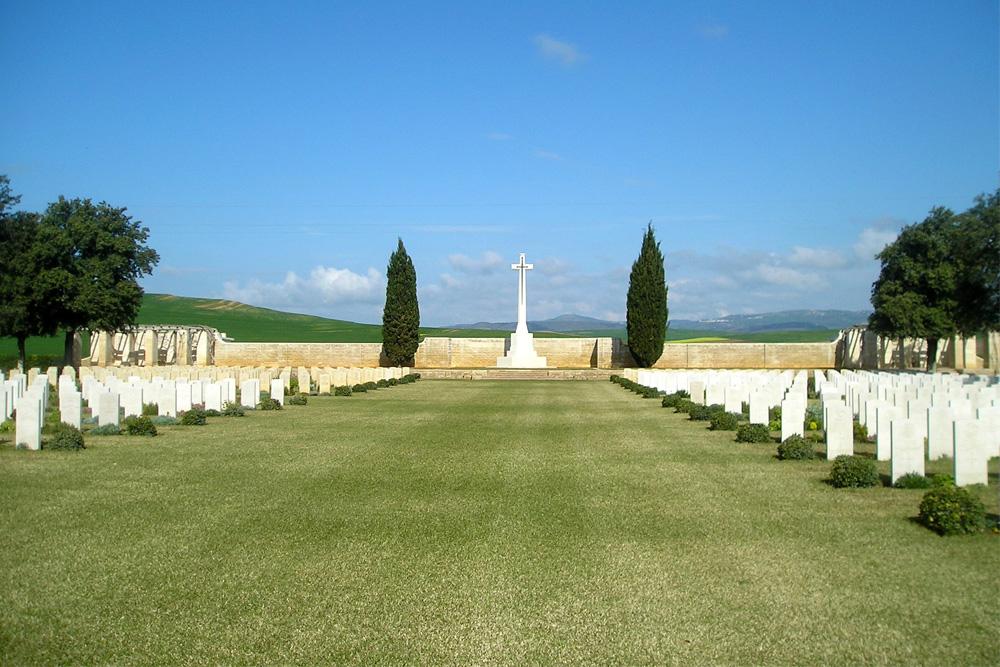 Commonwealth War Cemetery Medjez-el-Bab