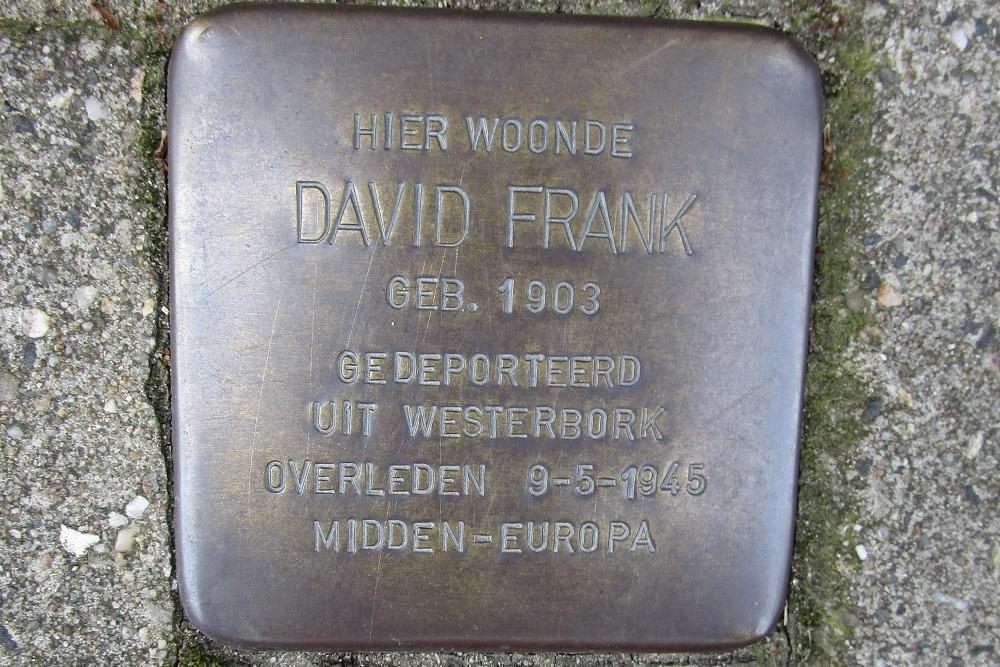 Remembrance Stone Maasstraat 14