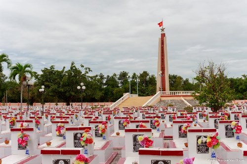 Militaire Begraafplaats Tra Cu