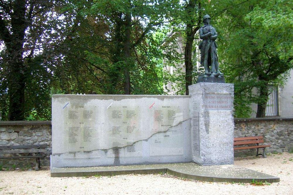 Oorlogsmonument Le Bourg-d'Oisans