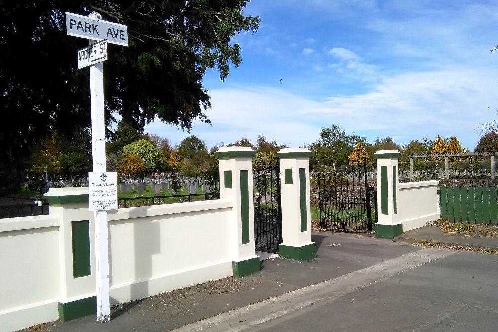 Commonwealth War Graves Masterton Cemetery