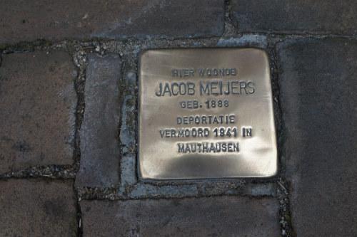 Stolperstein Bergstraat 46