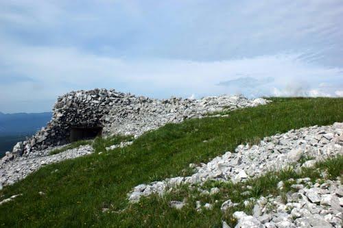 Alpenmuur - Kazemat Trstenik