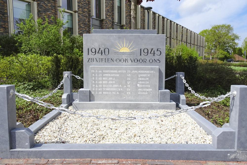 War Memorial Hoogkarspel