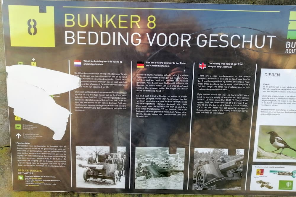 Bedding Bunkerroute no.8 De Punt Ouddorp