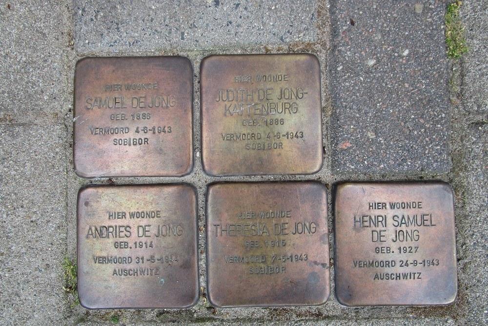 Remembrance Stones Holendrechtstraat 13