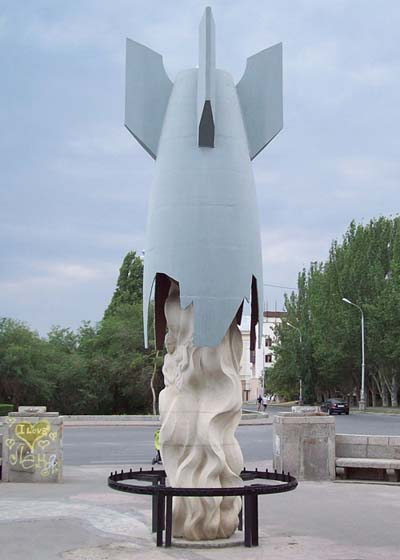 Memorial Civilian Casualties Stalingrad