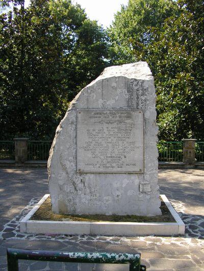 Monument Bombardement Cassino, 15 maart 1944