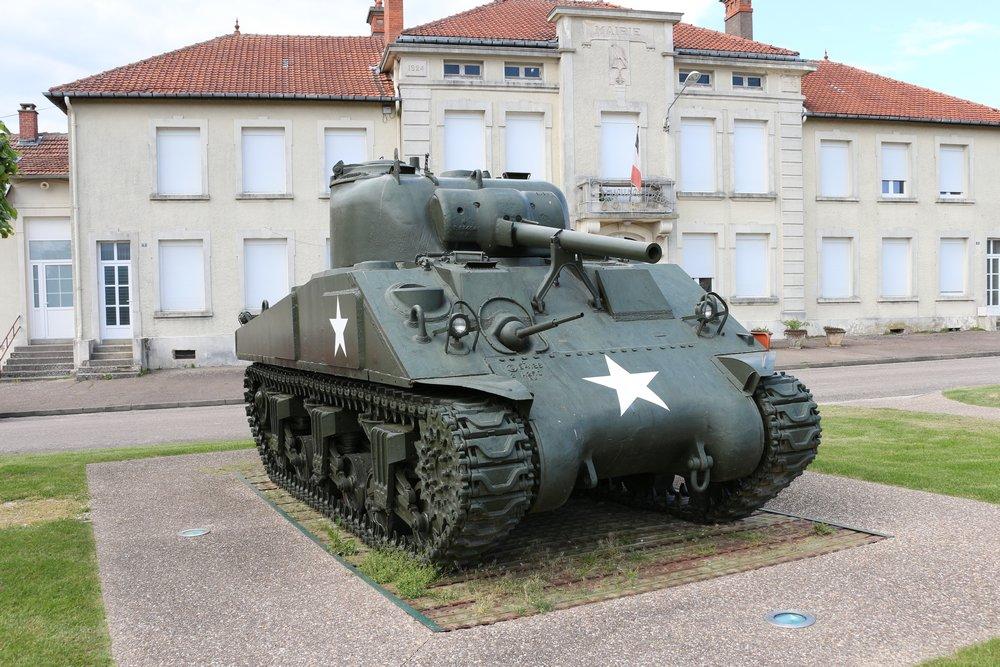 M4A1 Sherman Tank Montfaucon-d'Argonne