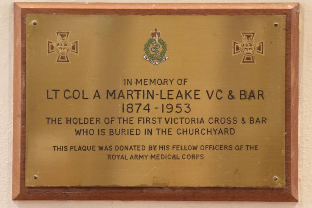 Monument Lieutenant Arthur Martin-Leake