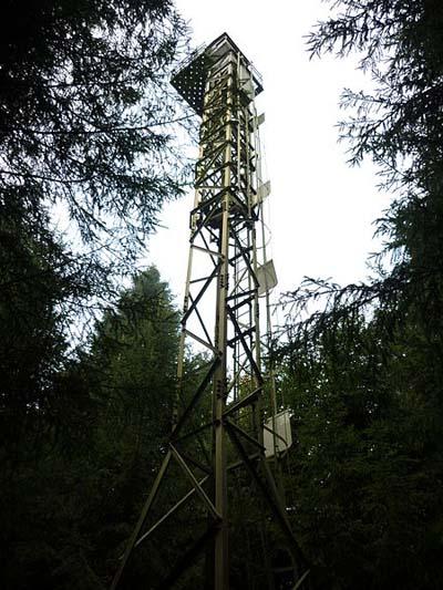 Limmat Line - Fire controle Tower Gebenstorfer Horn