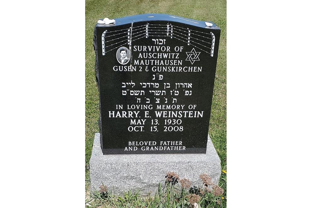Memorial Stone Harry E. Weinstein