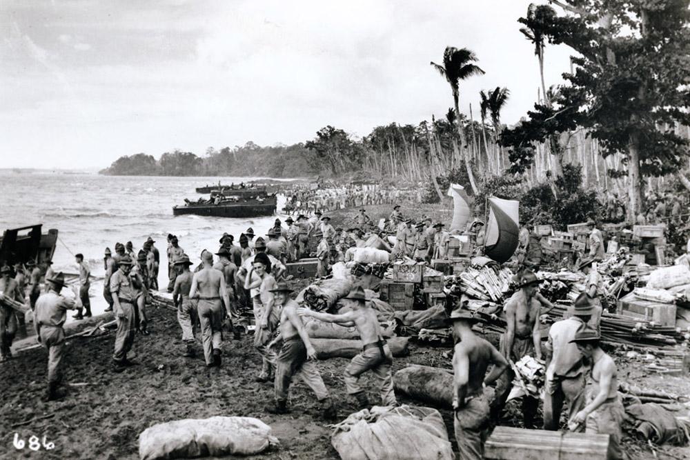 Invasion Beach Point Cruz