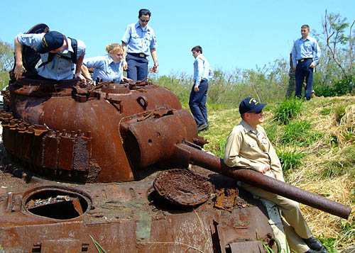 M4A3 Sherman Tank Iwo Jima