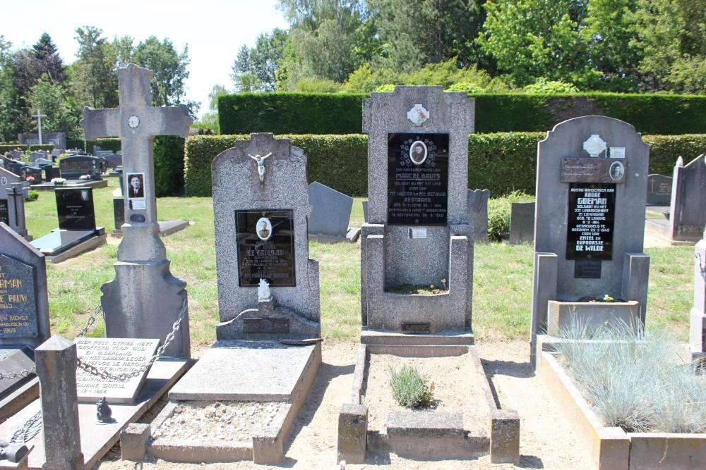 Belgische Oorlogsgraven Laarne