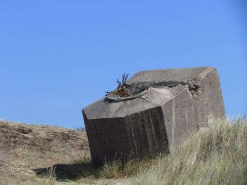 German Tobruk and Bunker Remnants Berck