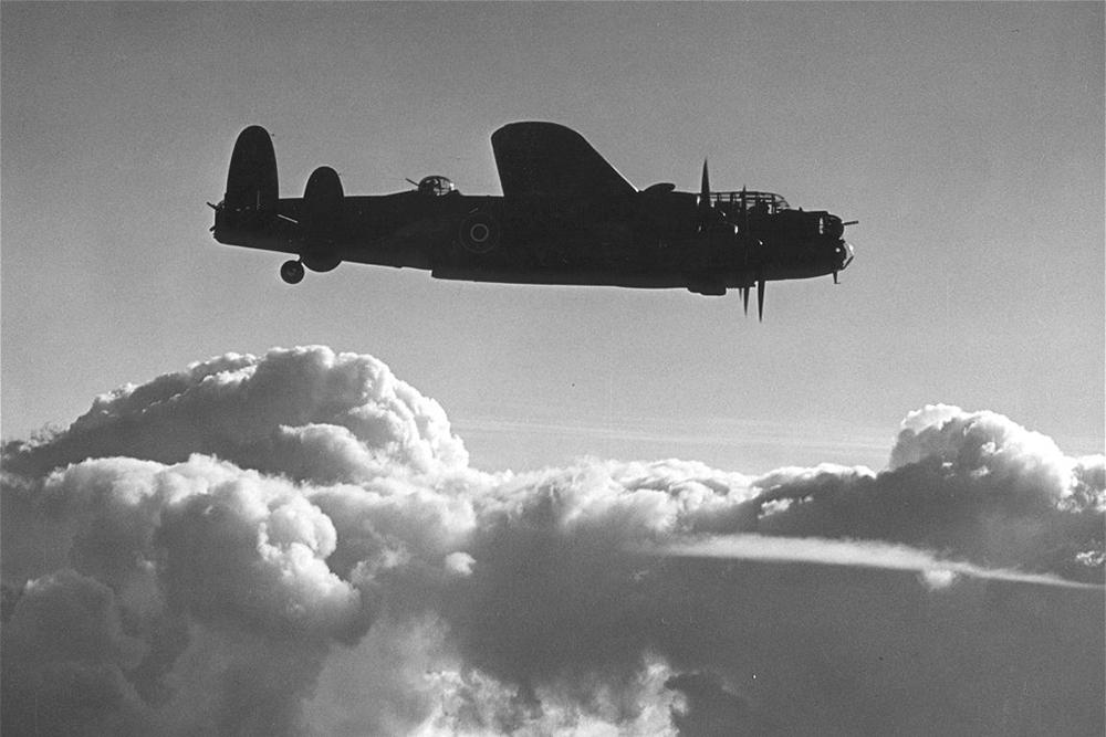 Crash Site Lancaster II DS647