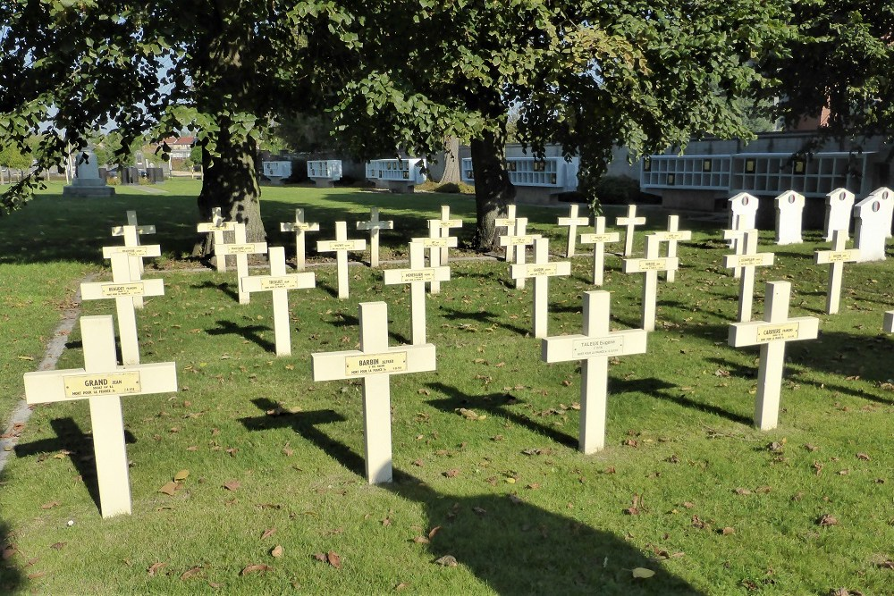 French War Graves Ghent Western Cemetery
